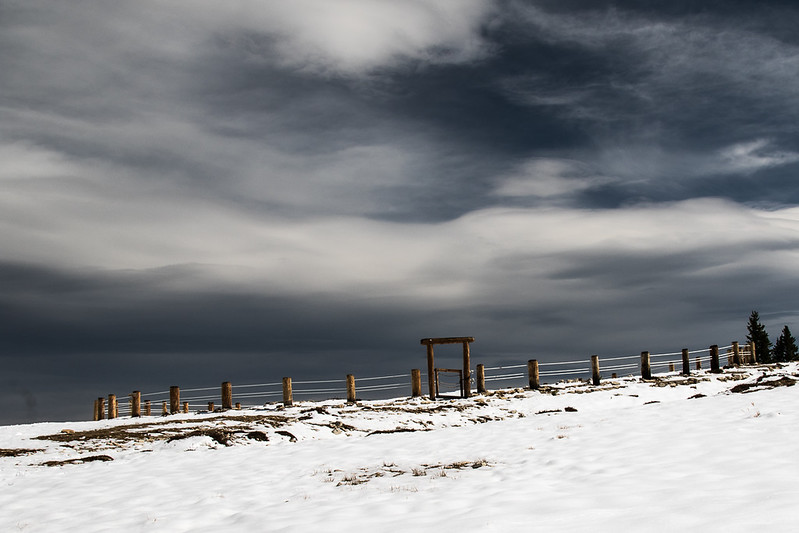 Midicine Wheel - Medicine Mountain National Historic Landmark, Bighorn Mountains