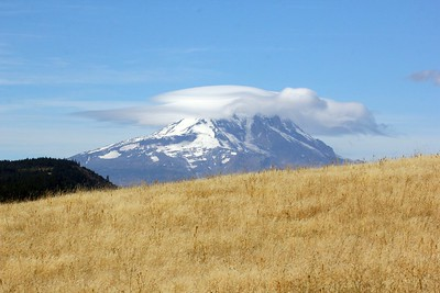 Mount Adams, as seen from the Klickitat Wildlife Area, 10-6-17