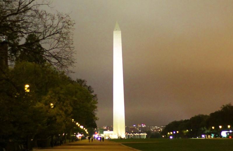 Washington Monument Oct 2017