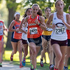 Wheaton College Cross Country at the Gil Dodds Invitational, St James Farm, Winfield