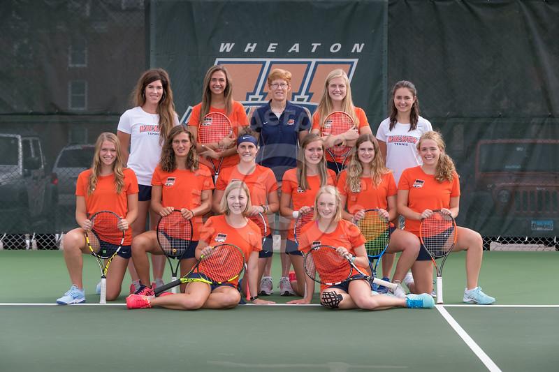 Wheaton College 2018-19 Women's Tennis Team