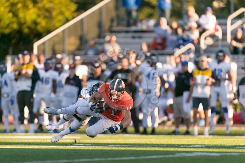 Wheaton College Football vs Millikin University, September 22, 2018