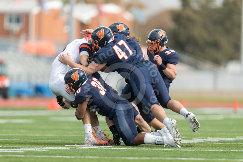 Wheaton College Football vs Carroll College (58-0)