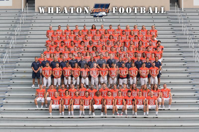 Wheaton College 2018 Football Team