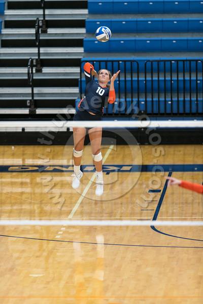 Wheaton College Volleyball vs Edgewood College (25-13, 25-17, 25-13)