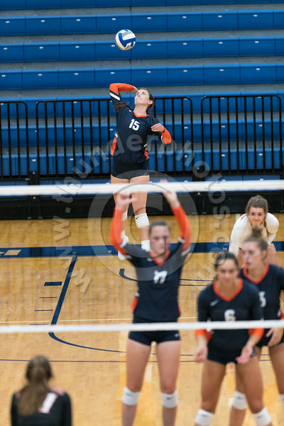 Wheaton College Volleyball vs Edgewood College (25-13, 25-17, 25-13)