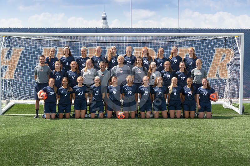 Wheaton College 2018 Women's Soccer Team