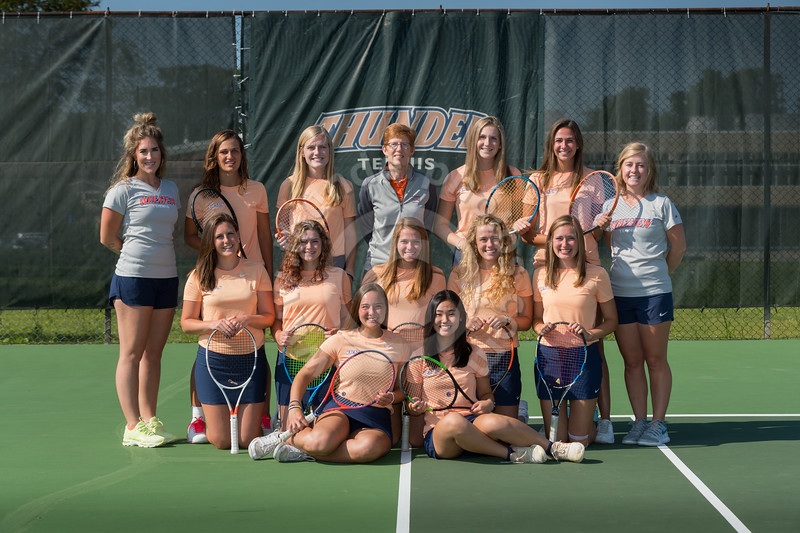 Wheaton College 2019-20 Women's Tennis Team