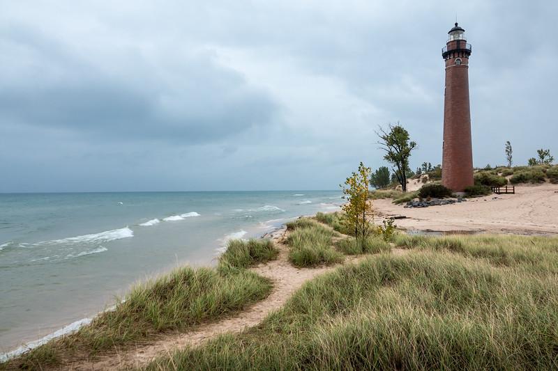 Little Sable Light, Lake Michigan