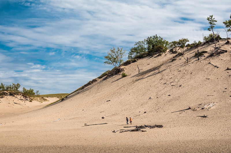 Warren Dunes Indiana, Lake Michigan