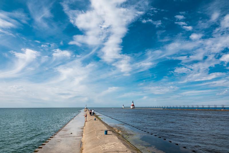 South Haven, Lake Michigan