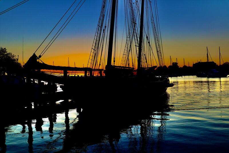 The Lynx Tall Ship Annapolis City Dock Oct 14 2020