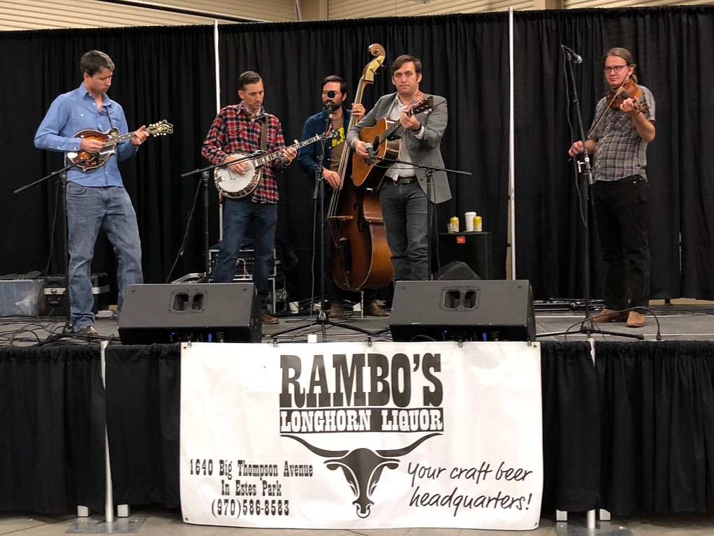 . Fall Back Beer Fest Live music accompanied the festival attendees Photographer Deb Holmes