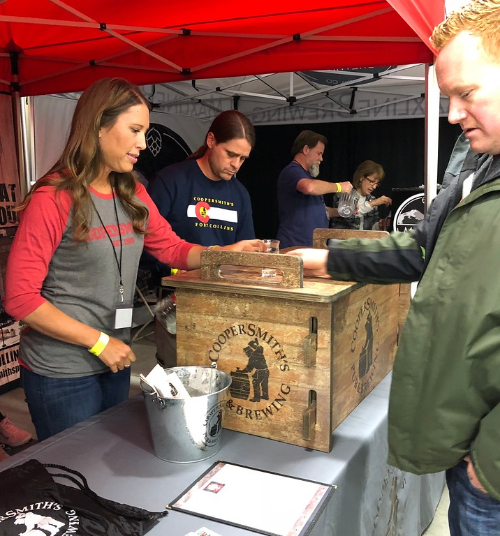 . Fall Back Beer Fest Breweries from around the state came to the event  Photographer Deb Holmes