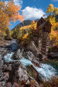 Fall at the Old Crystal Mill