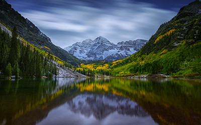 Fall at Maroon Bells