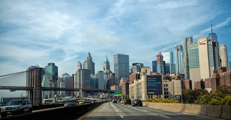 Lower Manhattan, from FDR Drive