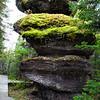 Wedding Cake monolith, Ile Niapiskau