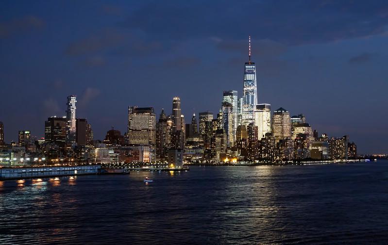 Lower Manhattan & One World Trade Center