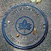 Central Park manhole cover