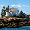 Mark Island Lighthouse, near Winter Harbor, Maine