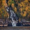 Waterfall, Saguenay Fjord