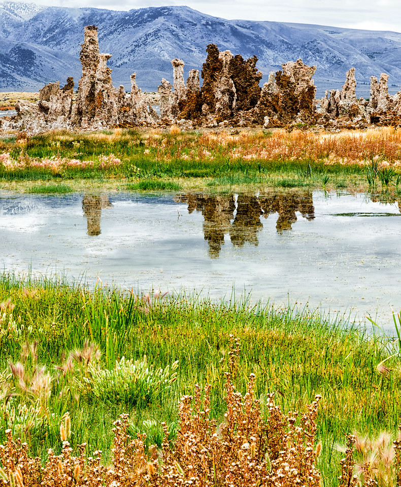 Mono Lake Tufa reflections