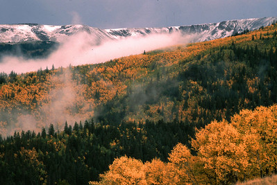Bulldog Mountain above Creede, CO.  This was a beautiful September morning just after a small snowfall that night.