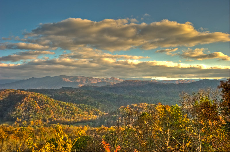 Another HDR Image from the Parkway