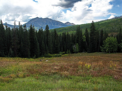 View from Kebler pass going north