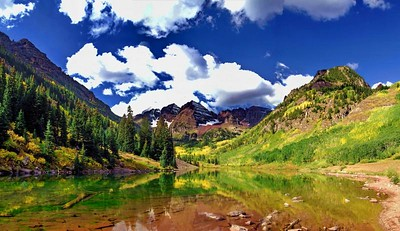 Maroon Bells & Aspen, Breckenridge, Colorado in the Fall