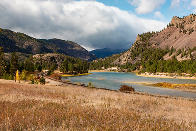 Flathead River near Paradise, MT