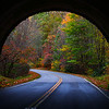 I took this photo while driving through the Blue Ridge parkway this fall. I happened to snap the shot through the sunroof, and it was by chance that I ended up with a workable shot. fall 2011