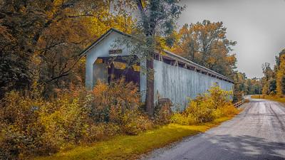 Wheeling, IN Covered Bridge