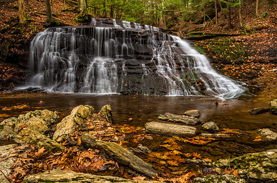 Hell's Hollow Falls in McConnells Mill State Park