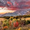 Wasatch Front Sunset at Fall