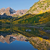 The Maroon Bells near Aspen, Colorado