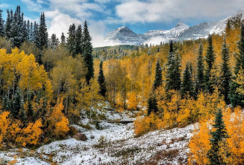 Mount Timpanogos at Fall