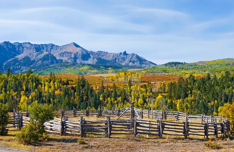Near Ridgway, Colorado