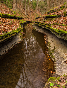 Hell's Hollow in McConnells Mill State Park
