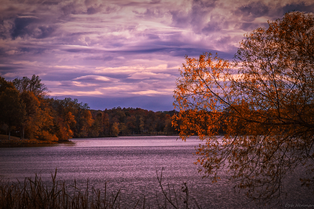 Olney Lake  in Fall