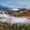 Farmington Canyon Fog and Fall Colors