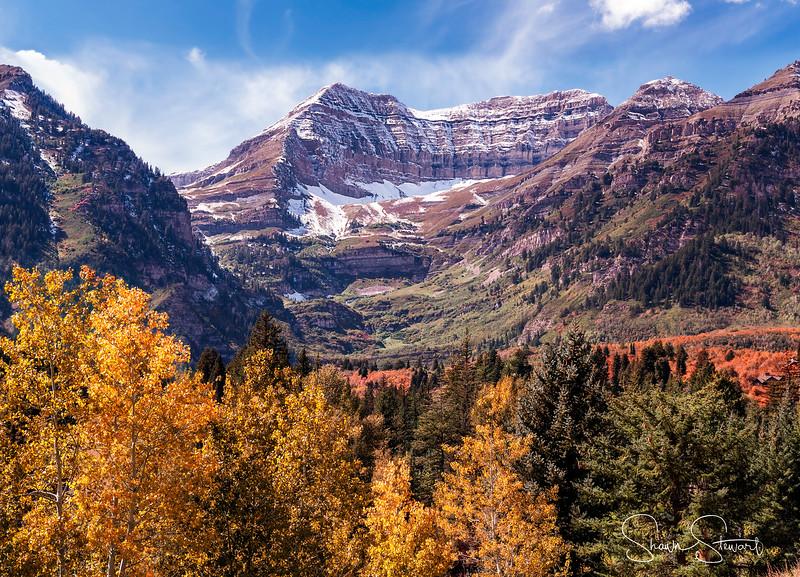 Fall Colors at Mount Timpanogos