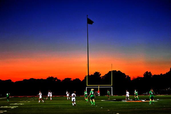 Fall Evening at Bethel Park Black Hawk Stadium