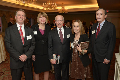 NEHGS council member Ed Sullivan with Welch & Forbes guests