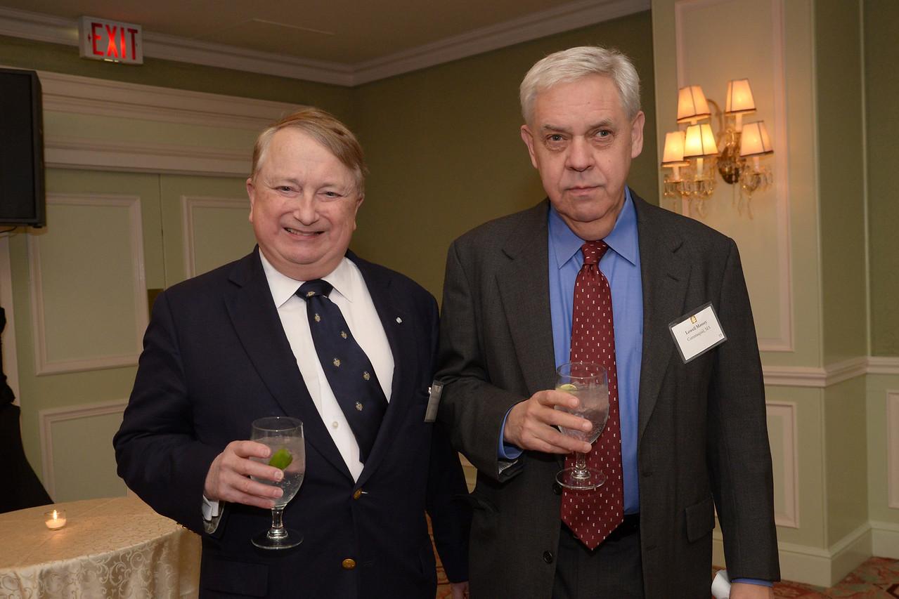 NEHGS Councilor Mark Kimball and Lowell Massey