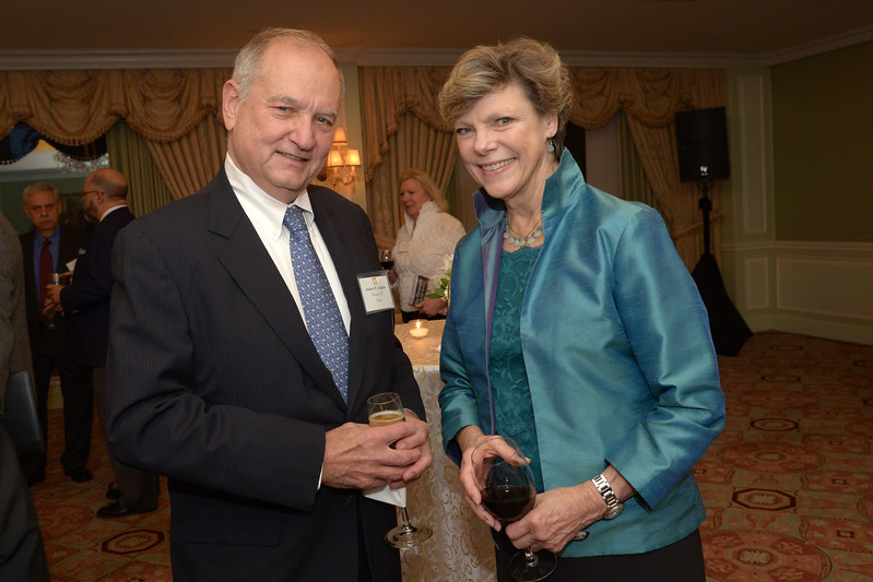 NEHGS Trustee Andy Langlois and Cokie Roberts