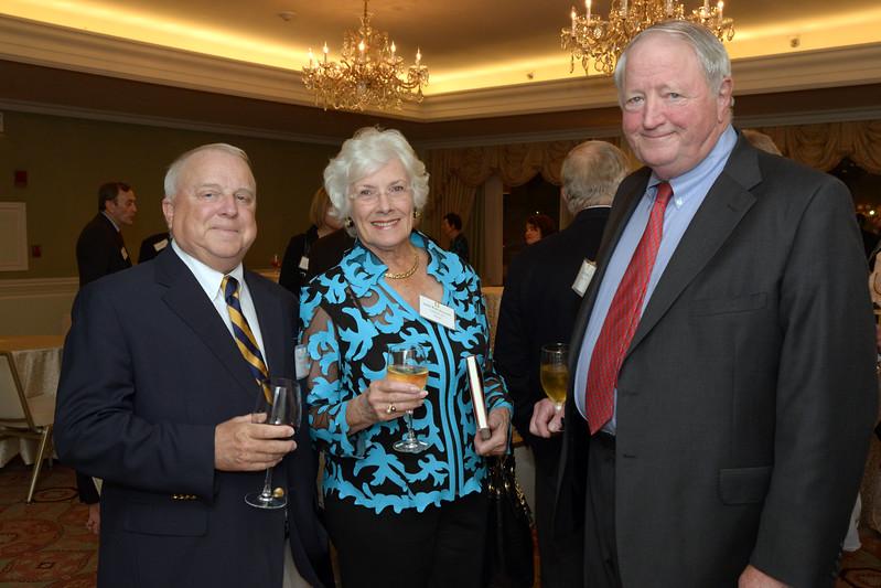 NEHGS Trustees Bill Marsh, Judy Freeman, and Louis Freeman