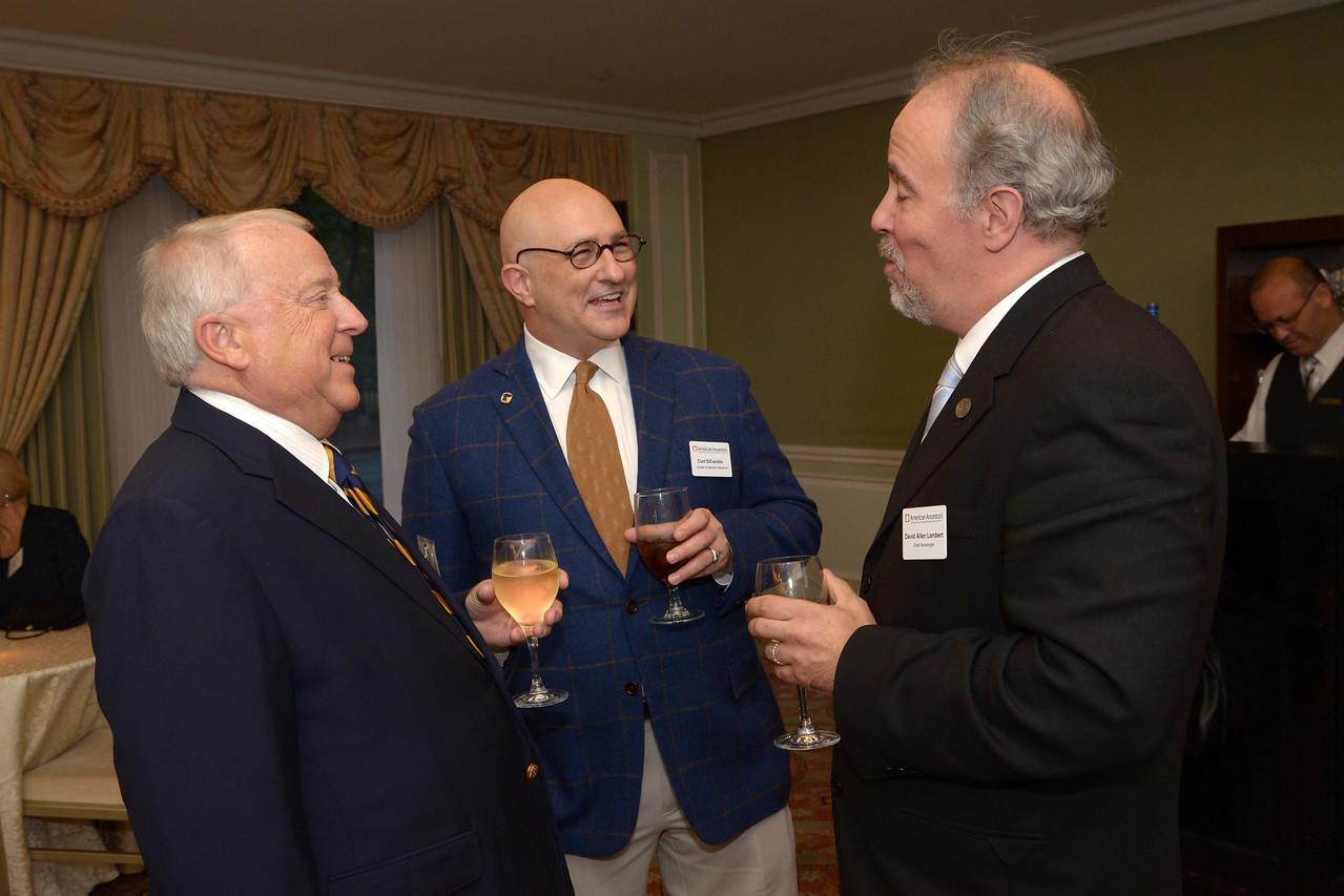 NEHGS Trustee Bill Marsh, Curt DiCamillo and David Lambert