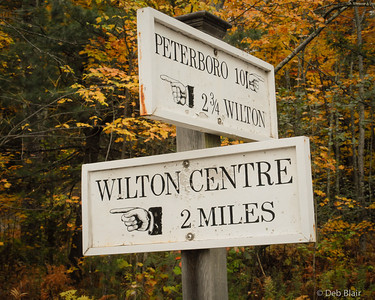 Street Signs in Wilton